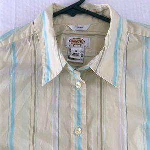 Talbots blouse size Medium Petite 3/4 sleeve.